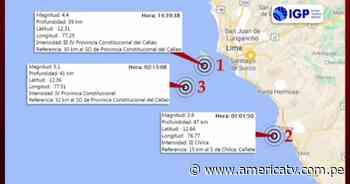 Sismo de magnitud 5.1 tuvo lugar en el Callao esta madrugada - América Televisión