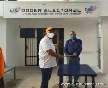 Manuel Barroeta oficializó su candidatura a la Alcaldía de Naguanagua - El Carabobeño
