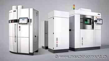 3D-Druck: Urma übernimmt EOS Vertretung - Schweizer Maschinenmarkt