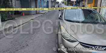 Acribillan a policía en Cojutepeque y un civil fue herido en medio del tiroteo - La Prensa Grafica