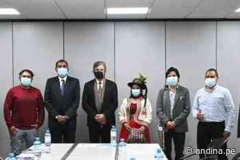 Moquegua: representantes de Corire están a favor del proyecto San Gabriel - Agencia Andina