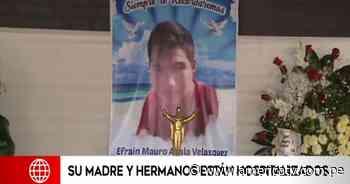 Matucana: Familiares se despiden de adolescente de 16 años que murió en el accidente - América Televisión