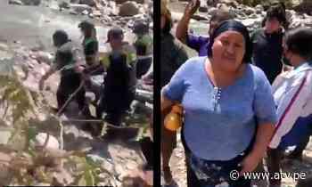 Tragedia en Matucana: hallan cuerpo de uno de los pasajeros tras 3 días de búsqueda - ATV.pe