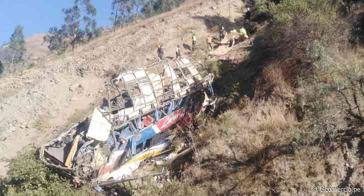 Matucana: encuentran cuerpo de pasajero que figuraba en lista de fallecidos, pero no estaba en la morgue - El Comercio Perú