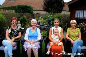 Vijf generaties komen samen