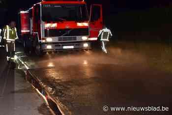 Drie lichtgewonden na botsing aan voorrangsweg