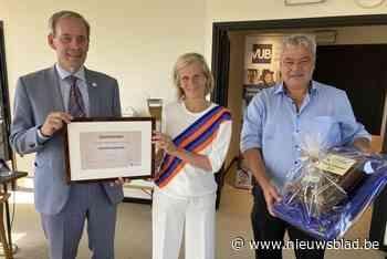 """VUB-rector Caroline Pauwels wordt cultureel ambassadeur van haar geboortestad: """"Een heel grote eer"""""""
