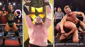 WWE NXT TakeOver: Walter-Schock! Adam Cole zu AEW? Samoa Joe wieder Champion! - Power-Wrestling.de