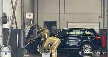 Automobilist schiet door wasstraat: carwash en muur vernield in Pittem - Het Laatste Nieuws