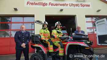 Feuerwehr Boxberg: Uhyst setzt auf neues Quad zur Gefahrenabwehr - Lausitzer Rundschau