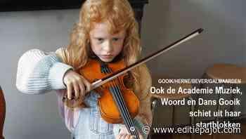 GOOIK/HERNE/BEVER/GALMAARDEN - Ook de Academie Muziek, Woord en Dans Gooik schiet uit haar startblokken - Editiepajot