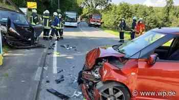 Netphen: Zusammenstoß bei Salchendorf – zwei Verletzte - Westfalenpost