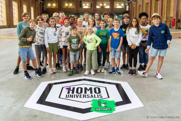 Joannah, Madelief en Raf houden eer hoog in Homo Universalis Ketnet