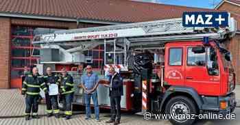 Feuerwehr Pritzwalk:Land schickt wichtiges Schreiben für neue Drehleiter - Märkische Allgemeine Zeitung