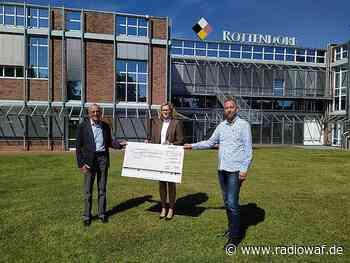 25.000 € Spende von Rottendorf Pharma Ennigerloh an die Aktion Kleiner Prinz - Radio WAF