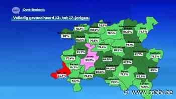 Minder dan helft van 12- tot 17-jarigen in Tervuren is volledig gevaccineerd - ROB-tv
