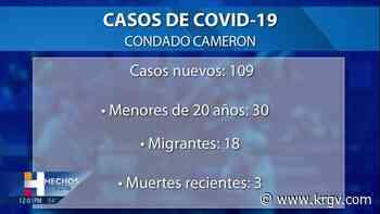 El condado Hidalgo reporta 11 muertes relacionadas con coronavirus, 284 casos positivos - KRGV