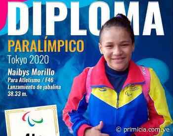 Naibys Morillo y Edwars Valera obtuvieron diploma en los Paralímpicos - Diario Primicia - primicia.com.ve