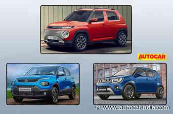 Hyundai Casper vs Tata Punch vs Maruti Suzuki Ignis: specifications comparison - Autocar India