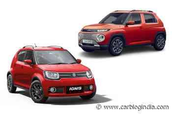 Maruti Ignis vs Hyundai Casper - Design Comparison! - Car Blog India
