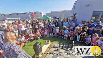 Ein buntes Fest in Cremlingen zum Einzug in die Kita - Wolfenbütteler Zeitung