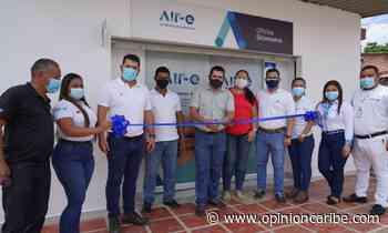 Inauguran oficina comercial de Air-e en el municipio de Sitionuevo - Opinion Caribe