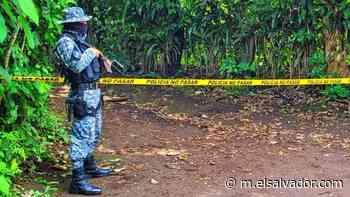 Pandillero muere abatido a balazos por policías en Izalco, Sonsonate - elsalvador.com