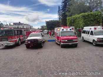 Entregan 2 ambulancias, camión de bomberos y camioneta en Jiquilpan - Quadratín - Quadratín Michoacán