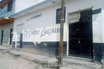 Reabren en Jiquilpan negocios de la zona de tolerancia cerrados por anterior Ayuntamiento - La Voz de Michoacán