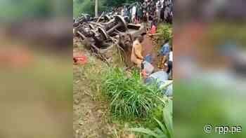 Tragedia en RD del Congo: al menos 21 muertos por el descarrilamiento de un tren - RPP Noticias