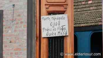 Insólito: boliche de Monte Grande amenazó a los grafiteros y lo vandalizaron igual - El Diario Sur