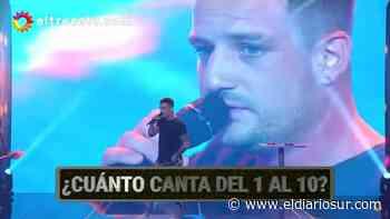 Rojelio está de acuerdo: un artista de Monte Grande cantó en la TV y se llevó un premio - El Diario Sur
