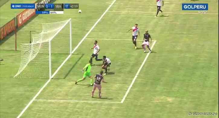 Sport Boys vs. Municipal: el blooper de Sebastián Penco frente al arco 'Edil' | VIDEO - El Comercio Perú