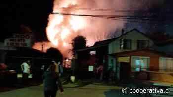 Dos personas fueron detenidas por incendio intencional en Villarrica - Cooperativa.cl