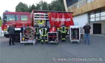 Großventilator für die Feuerwehr Zandt - Region Cham - Nachrichten - Mittelbayerische