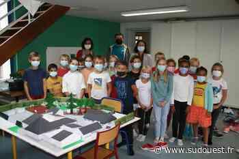 Lescar : les enfants de Victor-Hugo ont redessiné la cour de leur école - Sud Ouest