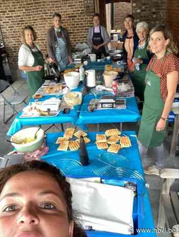 Ferm Boekhout bakt wafels ten voordele van slachtoffers overstromingen - Het Belang van Limburg