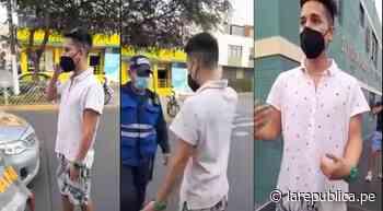 Moquegua: joven agrede verbalmente a agentes de Serenazgo y Policía - La República Perú