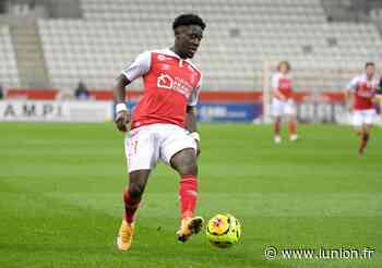 Football. L'attaquant du Stade de Reims Nathanaël Mbuku buteur avec l'équipe de France Espoirs - L'Union