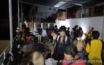 Dispersan fiesta en casa particular en la zona de La Quebrada - El Sol de Acapulco
