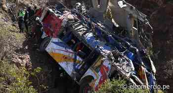 Accidente en Matucana: 16 policías donan sangre para heridos - El Comercio Perú