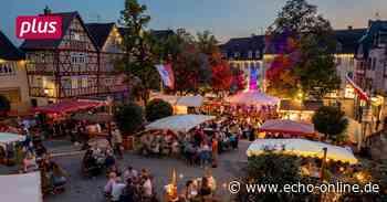 Winzerwoche in Bensheim als gelungene Alternative - Echo Online
