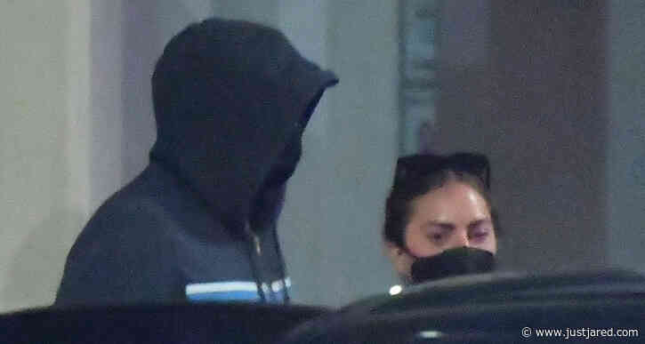 Lady Gaga Lands Back in L.A. with Boyfriend Michael Polansky