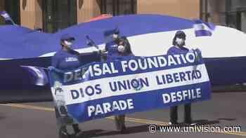 Aprovechando el desfile salvadoreño, adelantan una jornada de vacunación contra el coronavirus en Los Ángeles - Univision 34 Los Angeles