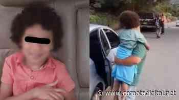 EN GUARENAS: Encuentran sano y salvo a niño reportado como desaparecido - Caraota Digital