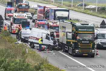 Na drie zware ongevallen in week tijd aan werf op E403: minister voert extra veiligheidsmaatregelen in