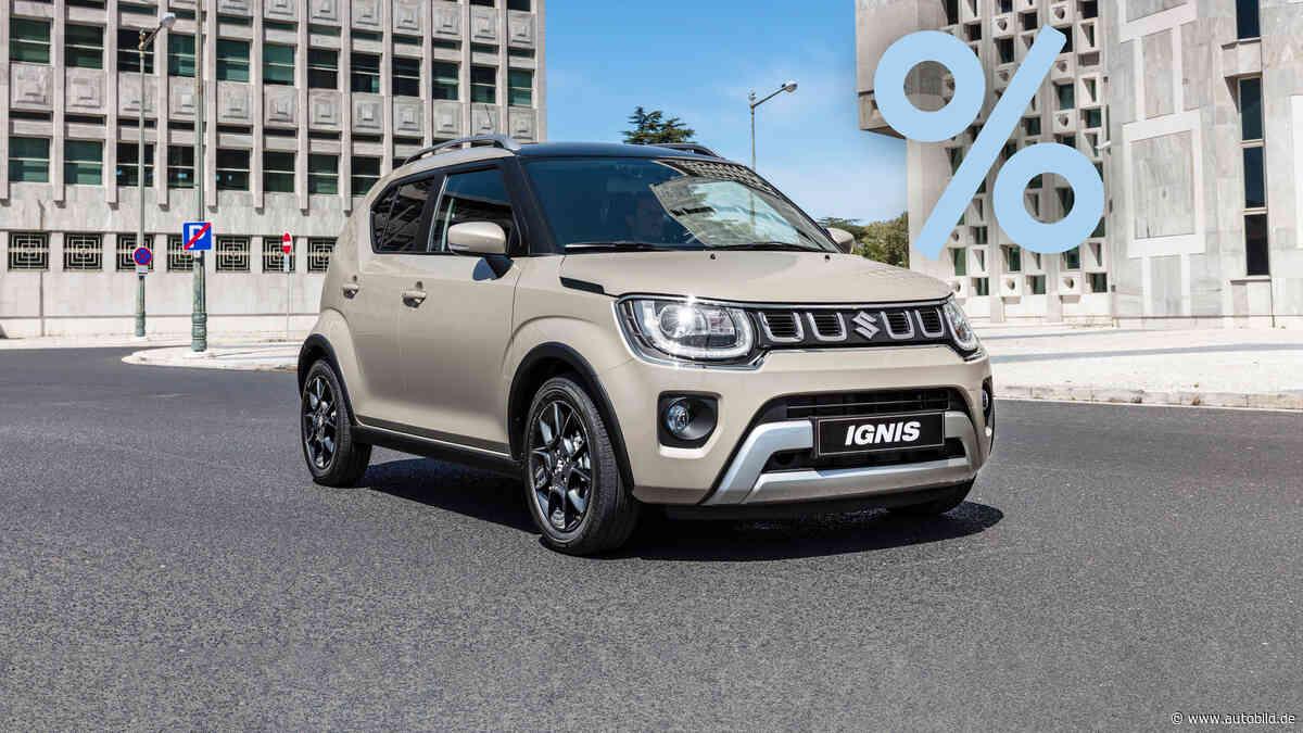 Das kleine Suzuki-Crossover Ignis mit bis zu 20 Prozent Nachlass! - autobild.de