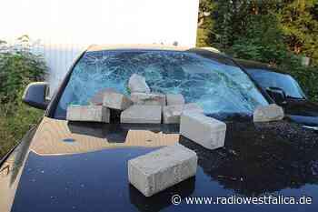 Pflastersteine auf Autos in Bad Oeynhausen geworfen - Radio Westfalica