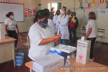 Plan de vacunación para docentes inició en Carabobo, Distrito Capital, La Guaira, Miranda y Aragua - El Carabobeño