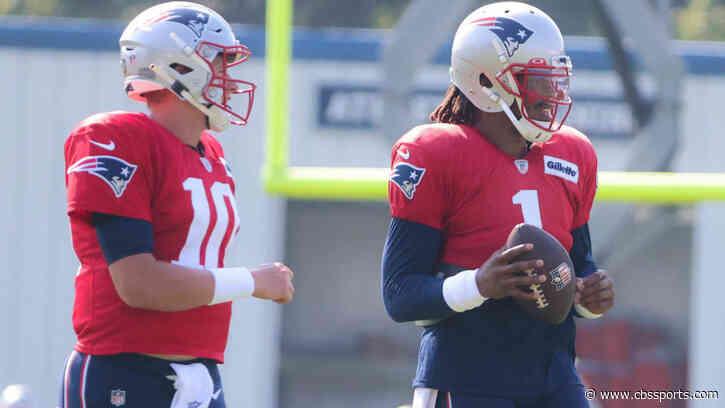 Former Patriots linebacker says Mac Jones was helping Cam Newton learn New England's playbook - CBS Sports